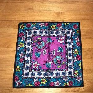 Adrienne Landau 100% Silk Scarf. Vibrant Paint